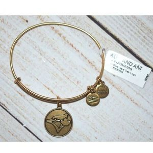 Alex and Ani Gold Bracelet Blue Jays Toronto Cap